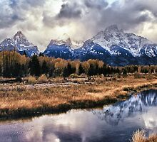 Schwabacher's Landing Sunset by Brian Kerls  photography