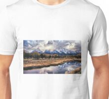 Schwabacher's Landing Sunset Unisex T-Shirt