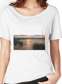Walden Ponds Sunset II Women's Relaxed Fit T-Shirt