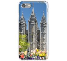 Mormon Temple - Salt Lake City iPhone Case/Skin