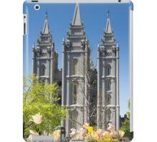 Mormon Temple - Salt Lake City iPad Case/Skin