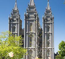 Mormon Temple - Salt Lake City by Brent Olson