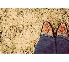 {boots} Photographic Print