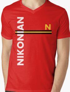 Nikonian Mens V-Neck T-Shirt