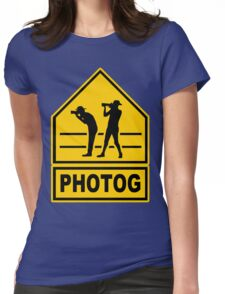 Photog Womens Fitted T-Shirt