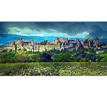 Carcassonne Photographic Print