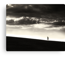 Between Living and Dying Canvas Print
