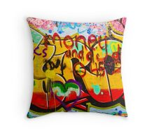 SYDNEY GRAFFITI 38 Throw Pillow