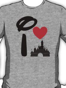 I Heart Sleeping Beauty (dark) T-Shirt