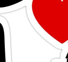 I Heart Sleeping Beauty (dark) Sticker