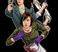 Warehouse 13 girls by dlxartist