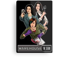 Warehouse 13 girls Metal Print