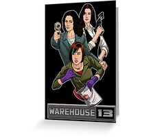 Warehouse 13 girls Greeting Card
