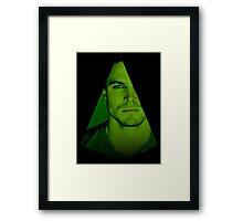 Oliver Queen Framed Print