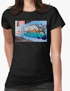 SYDNEY GRAFFITI 42 Womens Fitted T-Shirt