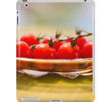 Tomatoes, Olive Oil and Balsamic Vinegar iPad Case/Skin