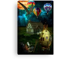 Out There... Canvas Print