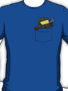 Pocket Spartan (Halo Pocket Shirt / Master Chief Pocket Shirt) T-Shirt
