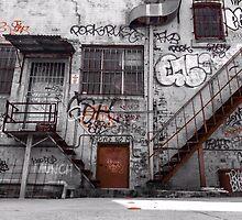 Newtown, Street Art, Warehouse by Shannon Friel