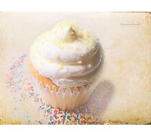 My Lemon Cup Cake Photographic Print
