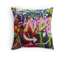 SYDNEY GRAFFITI 48 Throw Pillow