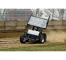 #11 IRA Sprint Car at Dodge County Speedway Photographic Print