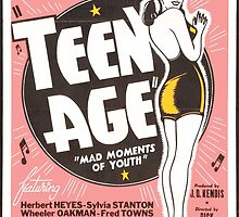 Teenage Mad Moments of Youth Retro Movie by Charlottesw3b