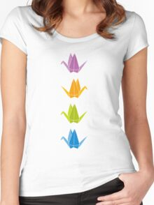 ORIGAMI Women's Fitted Scoop T-Shirt