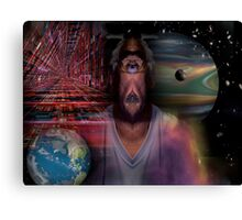 Just another Alienvisitor Canvas Print