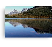 Reflections in Lake Lilla, Cradle Mountain  Canvas Print