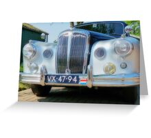 DAIMLER CONQUEST 1957  # 1 Greeting Card