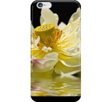 Lotus in Full Bloom iPhone Case/Skin