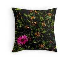 Single Bloom Throw Pillow