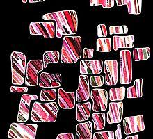 Falling tiles by Janice E. Sheen