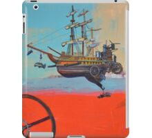 Illustration for SciPhi Journal issue #5 'HMS Mangled treasure' iPad Case/Skin