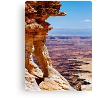 Island in the Sky, Utah Canvas Print