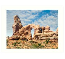 Turret Arch in Arches National Park, Moab, Utah Art Print