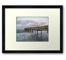 St. Johns Pier Framed Print