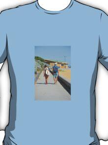 A STROLL AT THE BEACH T-Shirt