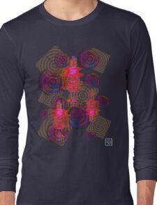 """Sound Waves""© Long Sleeve T-Shirt"
