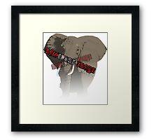 Ban Ivory Trade Framed Print