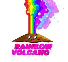 Rainbow Volcano by middletone