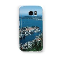 Bergen from Above on funicular Norway 19840611 0011m  Kodachrome Samsung Galaxy Case/Skin