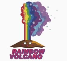 Rainbow Volcano Kids Clothes