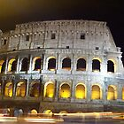 Roman Colosseum by Linda Curty