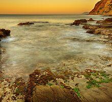 Orange dawn by Patrick Morand