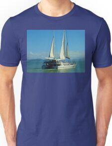 Sailing at Port Douglas Queensland Australia  Unisex T-Shirt