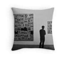 @Exhibition 02 Throw Pillow