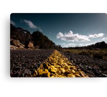 Frog view Canvas Print