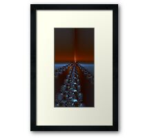 The Fractal Road to Perdition Framed Print